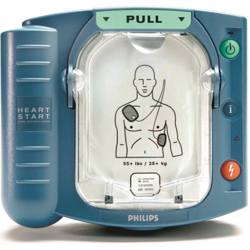 Philips Heartstart HS1 AED complete set